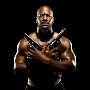 James Harrison Gun Pic